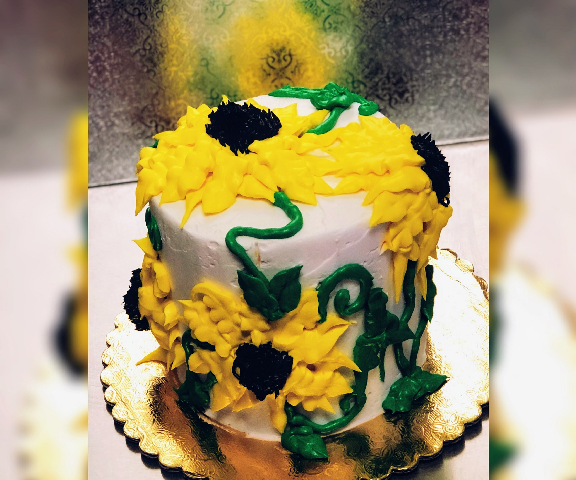 Wine Down Wednesday: Sunflower Cake