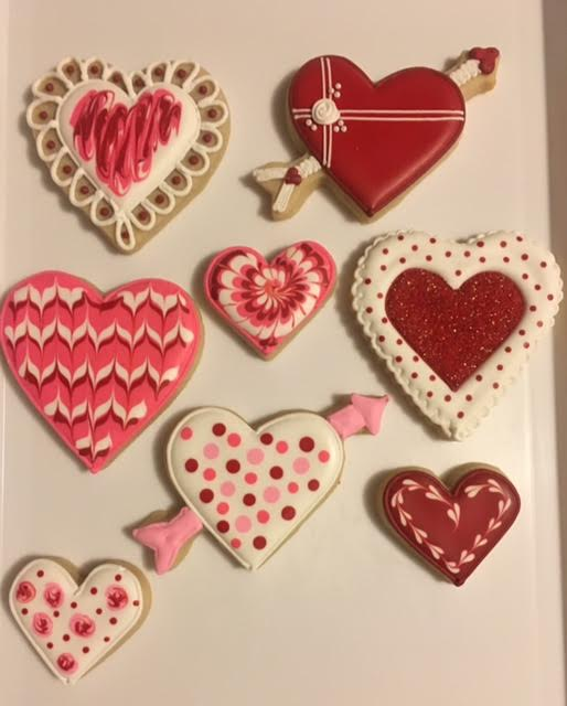 Wine Down Wednesday  Valentine Cookie Class