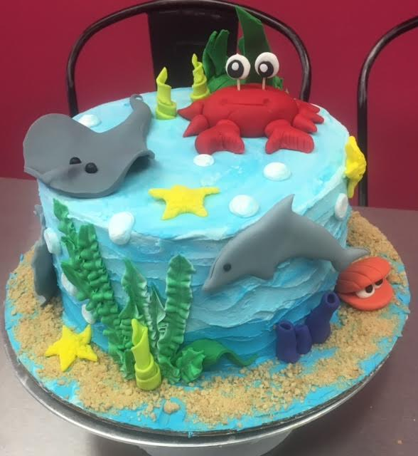 Under The Water Sea Cake For T Weens 2 Day Class