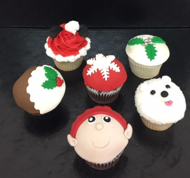 Mommy and Me Christmas  Cupcakes