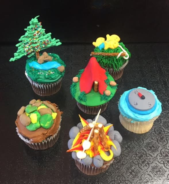 Let's go Camping Cupcakes