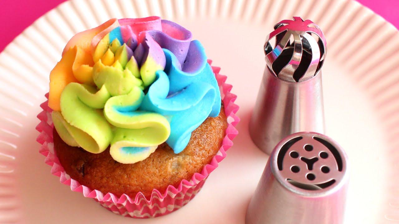 Russian Tip Cupcake Class