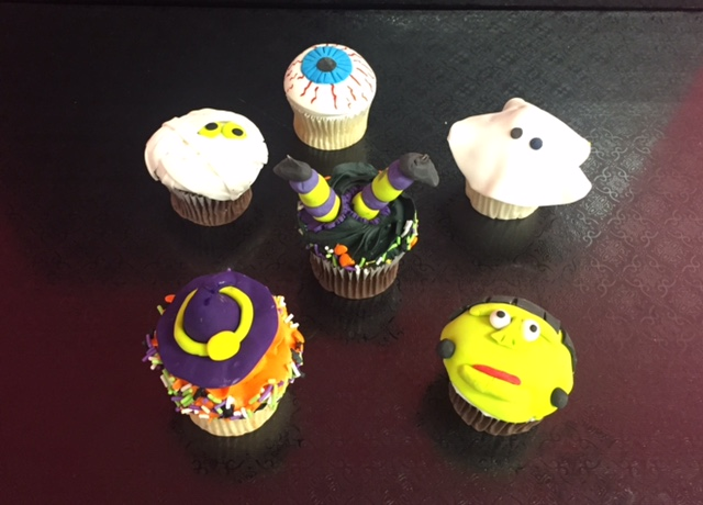 Mommy and Me Halloween Cupcakes