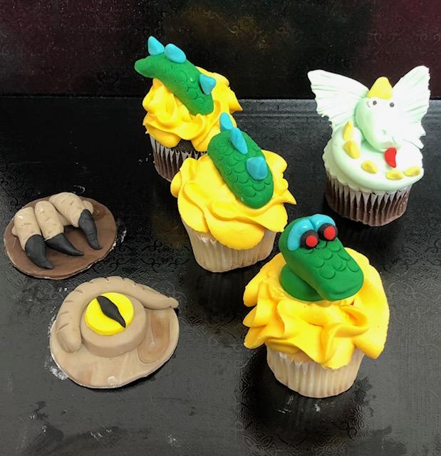 Dinosaur Week Day 1 Cupcakes