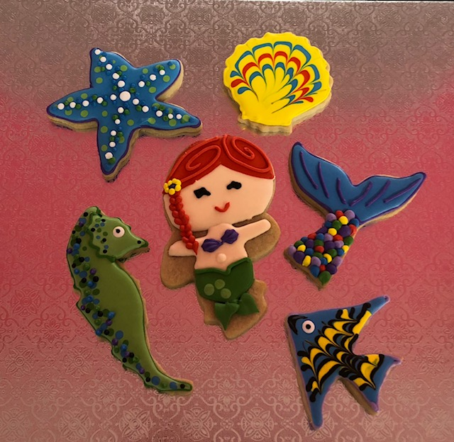 Under The Sea Day 3 Cookies