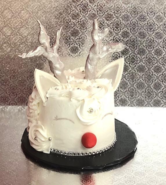Family Fun Reindeer Cake