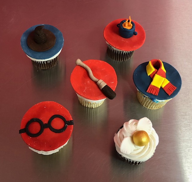 Wizards and Magic Cupcakes