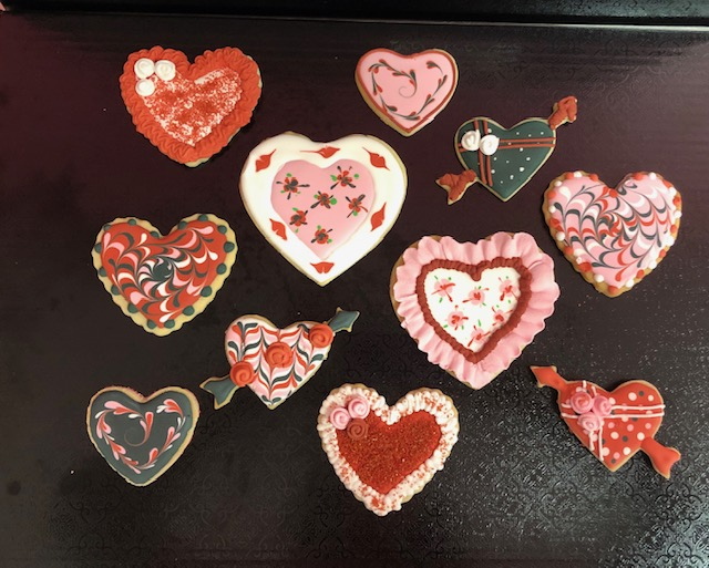 Homeschool Valentine Cookie Class