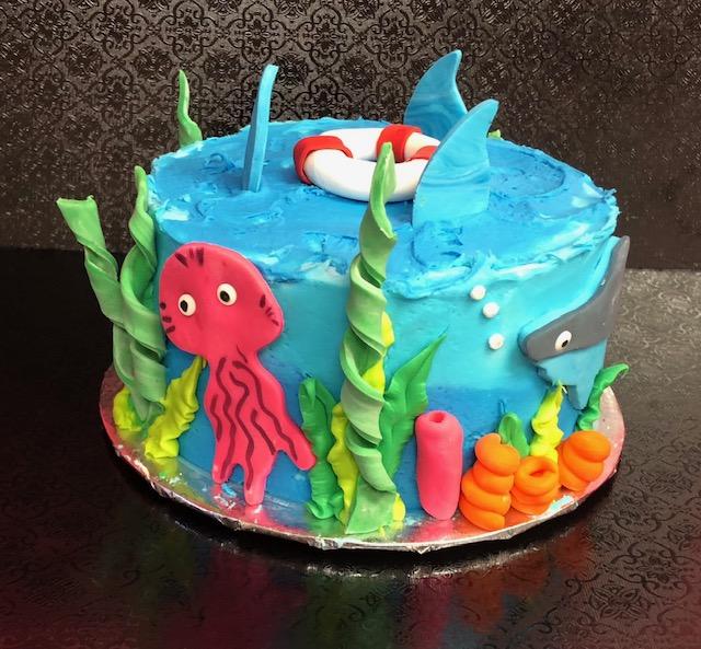 Shark Week (Cake)