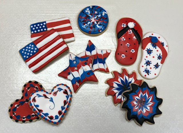 Winedown Wednesday Remembering 911 Stars and Stripes Cookies (BYOB)