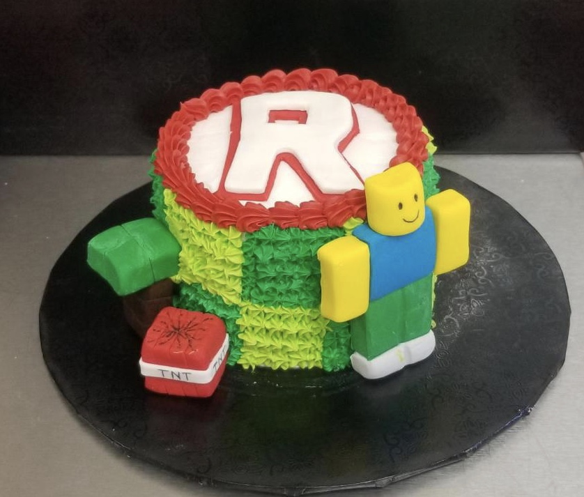 Block Craft Cake (ages 8 and up)