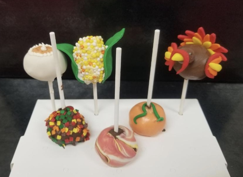 Corks N Confections Thanksgiving Cake Pops (BYOB)