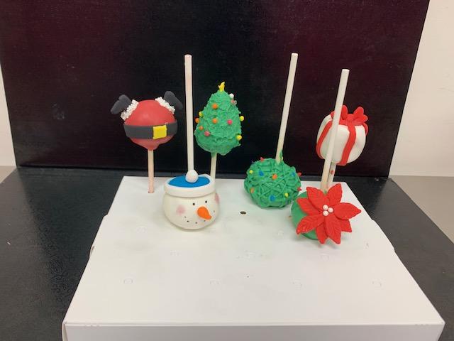 Homeschool Cake -Pop Class (10 and up )