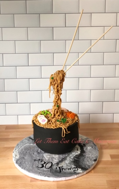 Anti-Gravity Ramen Cake W/Liz (12 and up)
