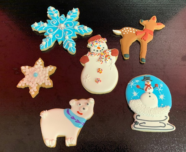 Homeschool Winter Cookies