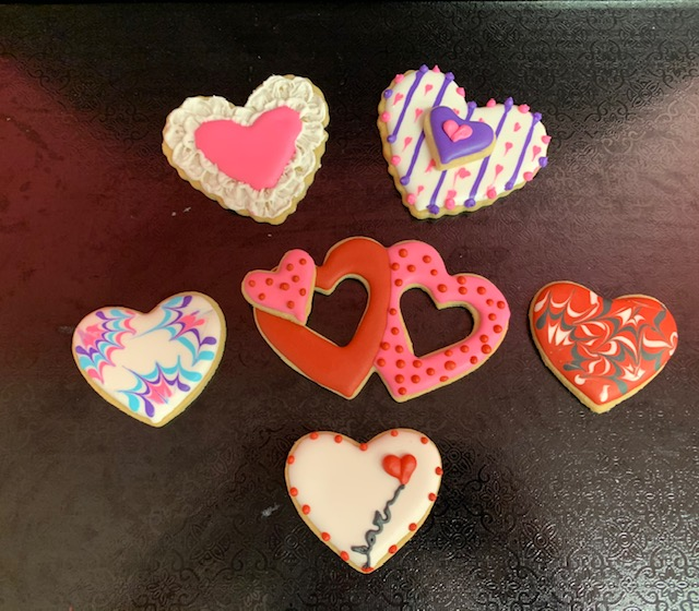 Family Fun Valentine Cookies