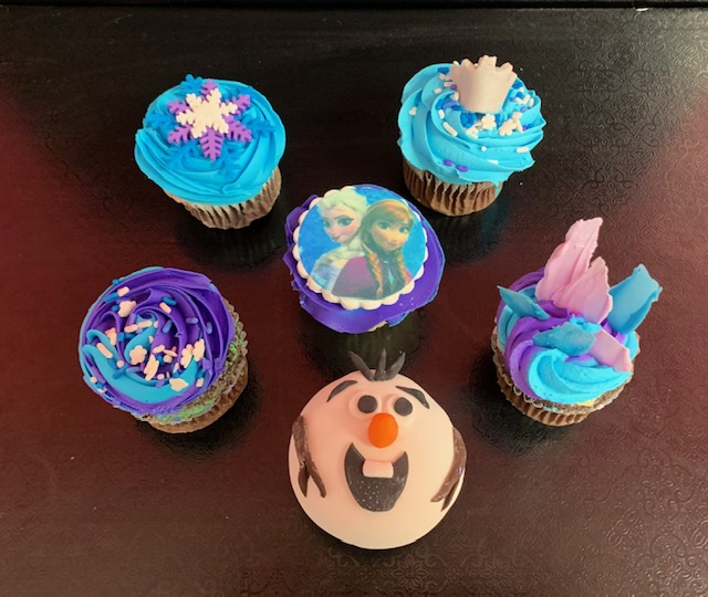 Ice Princess Cupcake Class
