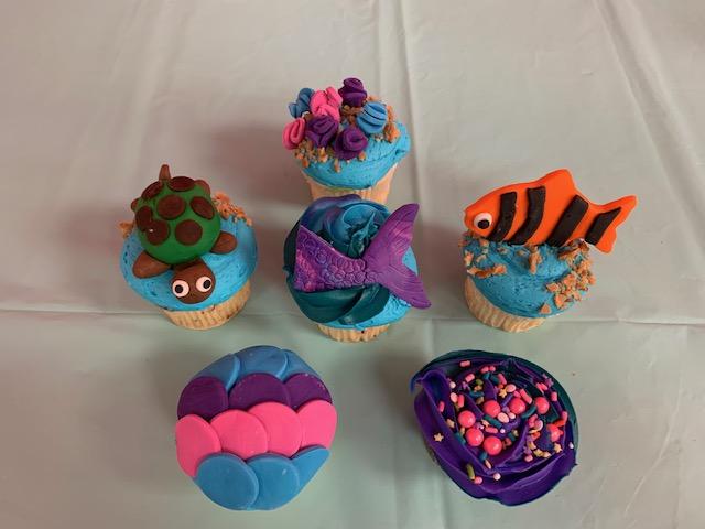 Winedown Wednesday Under The Sea Cupcakes (BYOB)