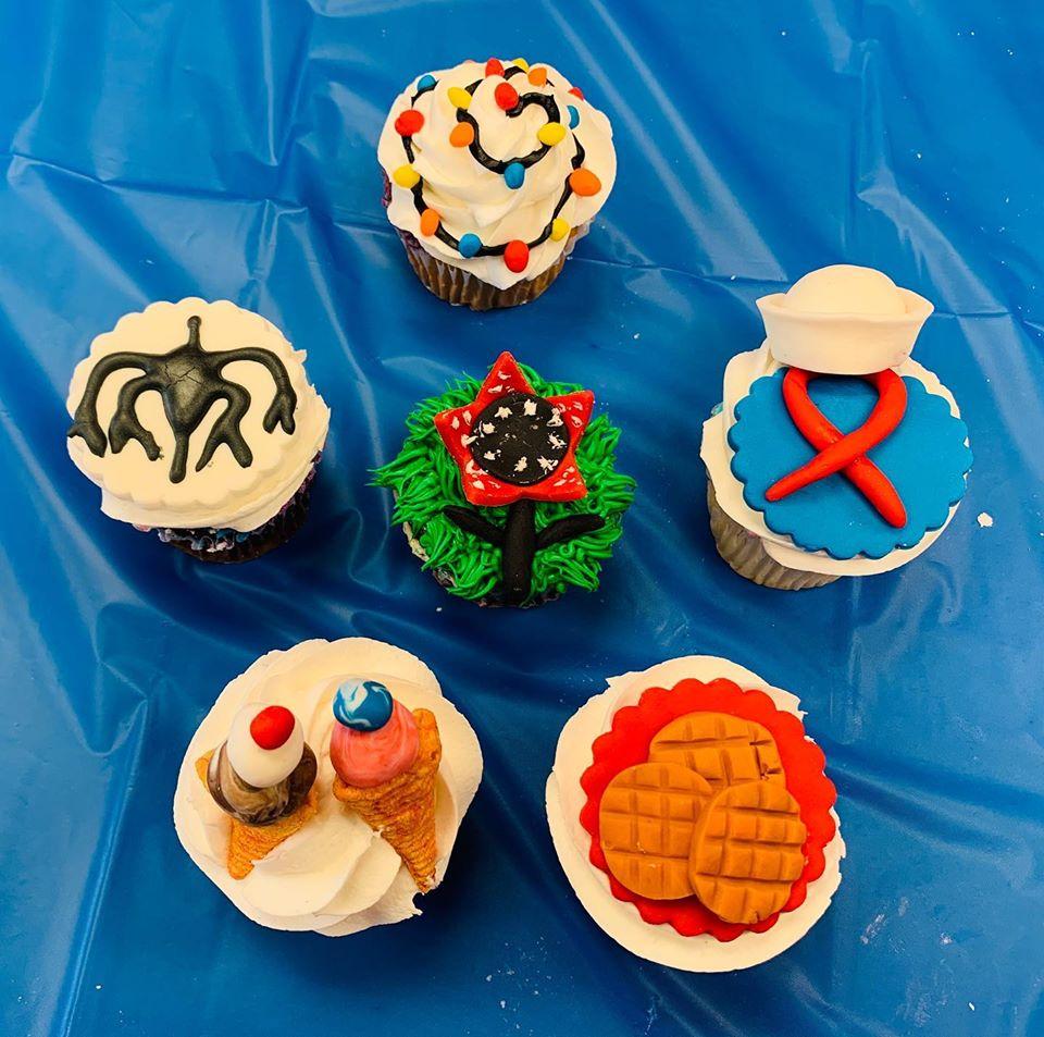 Strange Cupcakes in the Making