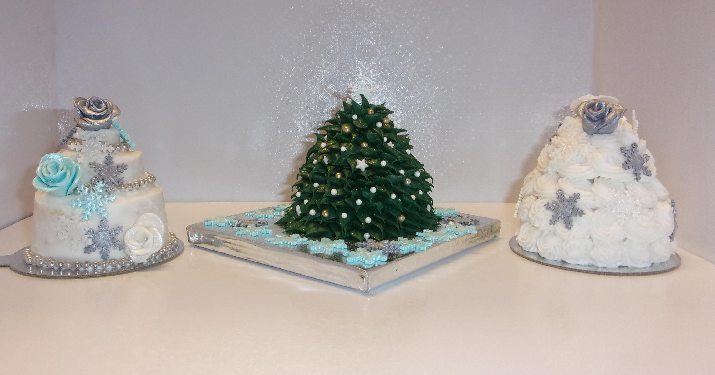 Mini Winter Cakes Class   Over The Top Cake Supplies San ...