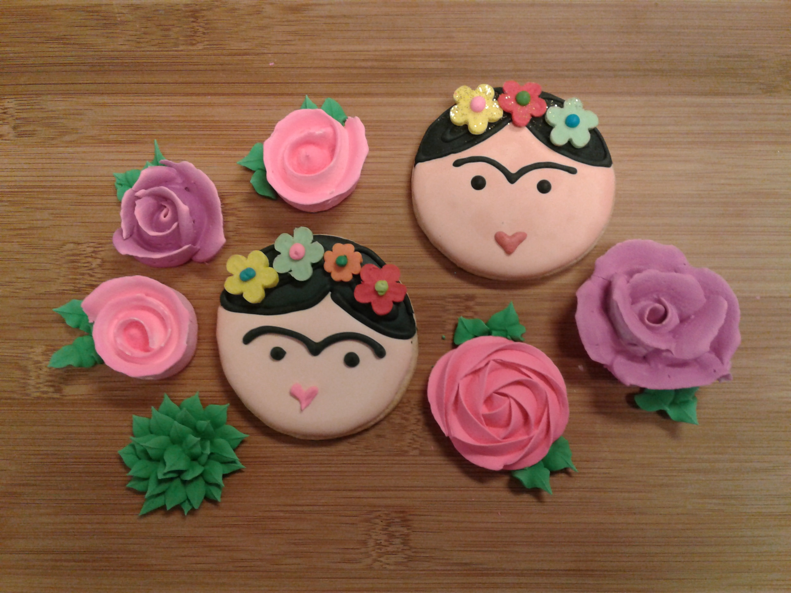 Frida Kahlo Cookies