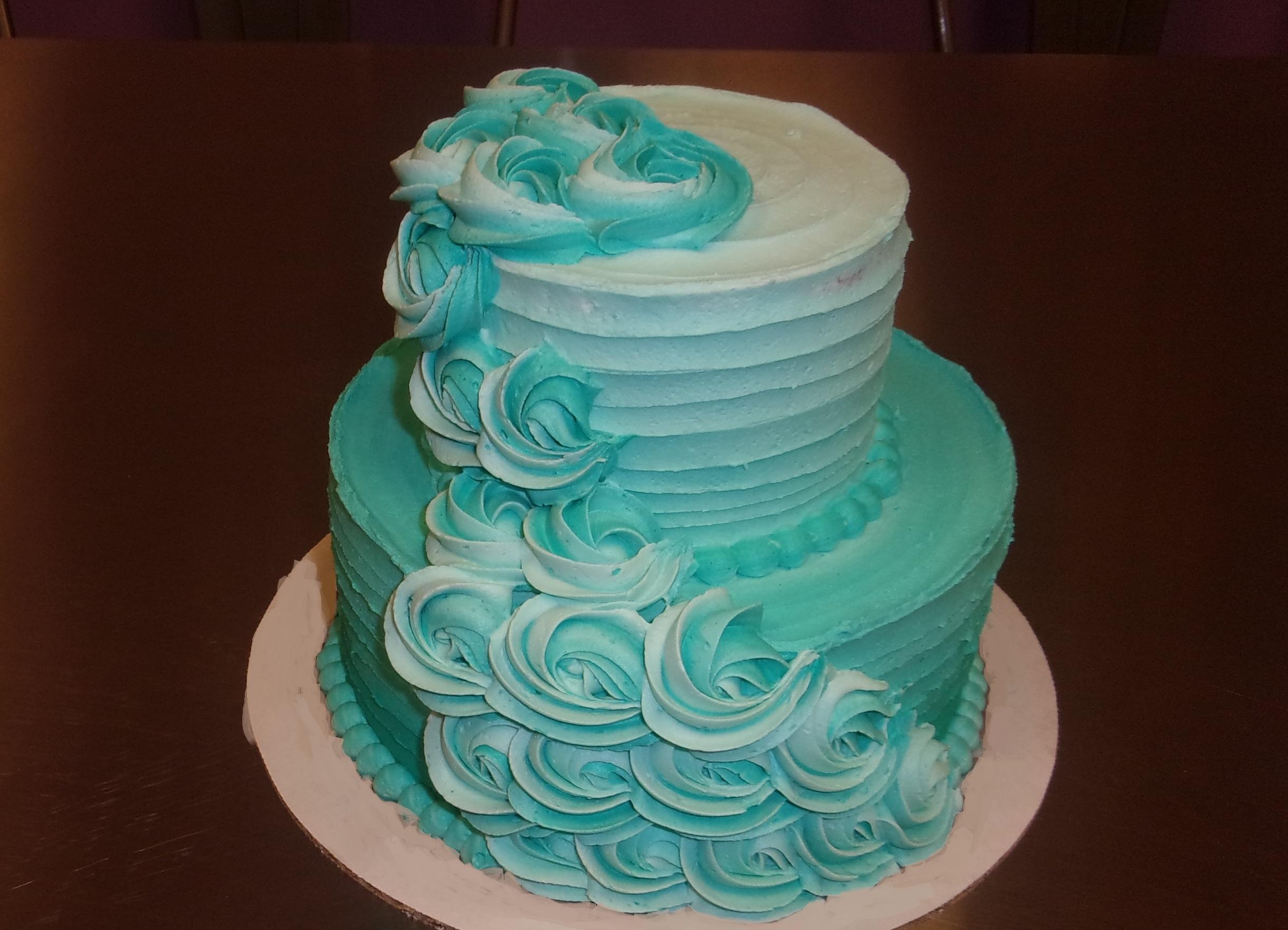 3 in 1 Basic Buttercream Cake