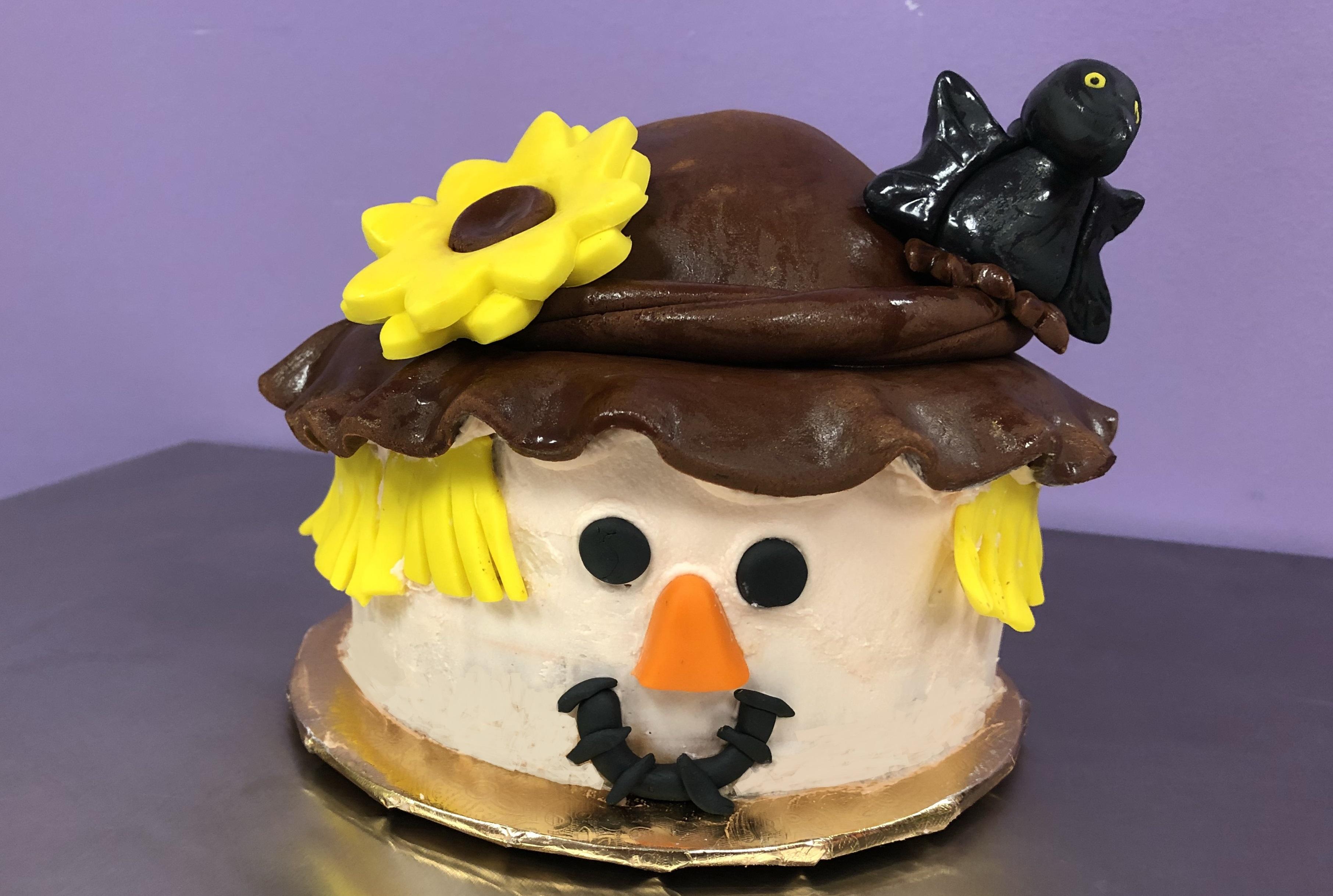 Kid's Camp: Scarecrow Cake