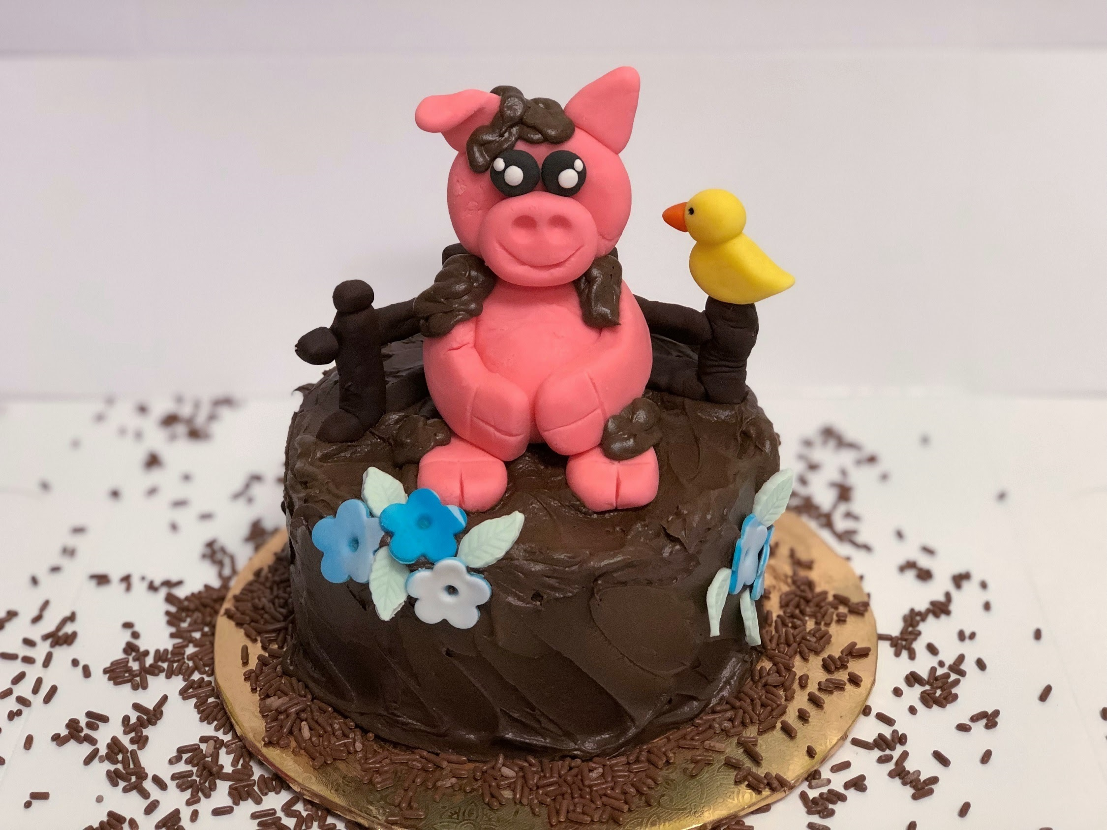 Family Day: Pig In The Mud Cake