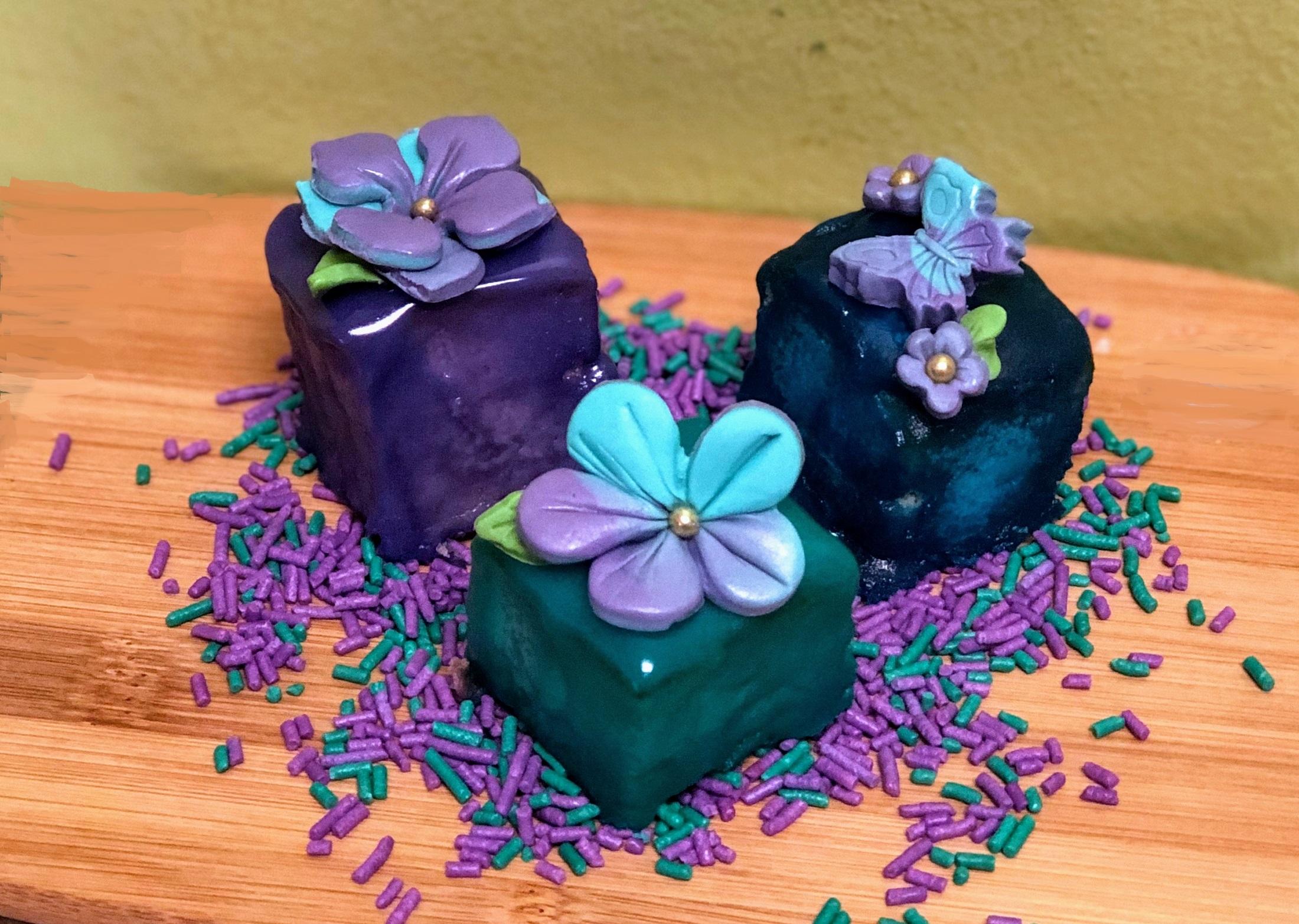 Corks & Confections: Spring Petit Fours