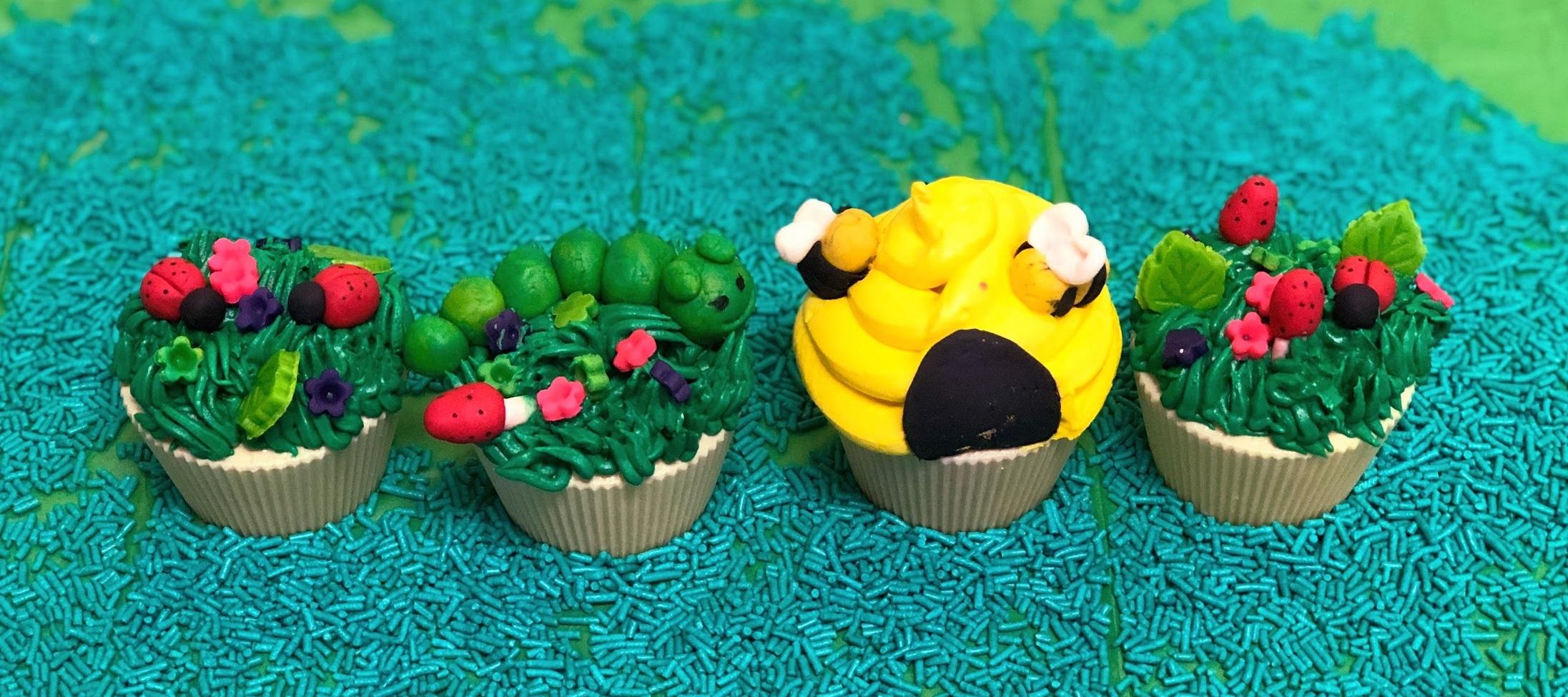 Kid's Camp: Birds & Bugs Cupcakes