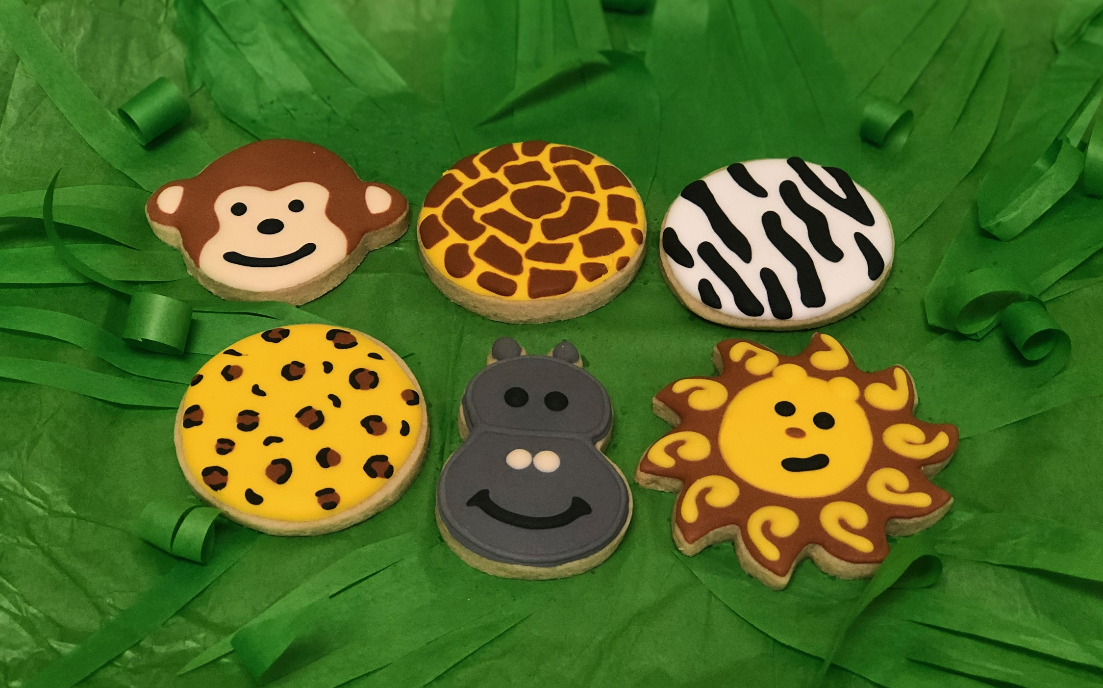 Kid's Camp: Goin' On Safari Cookies