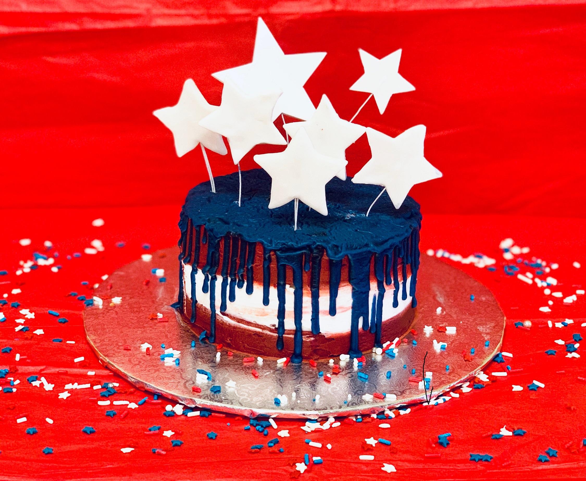 Kid's Camp: Stars & Stripes Cake