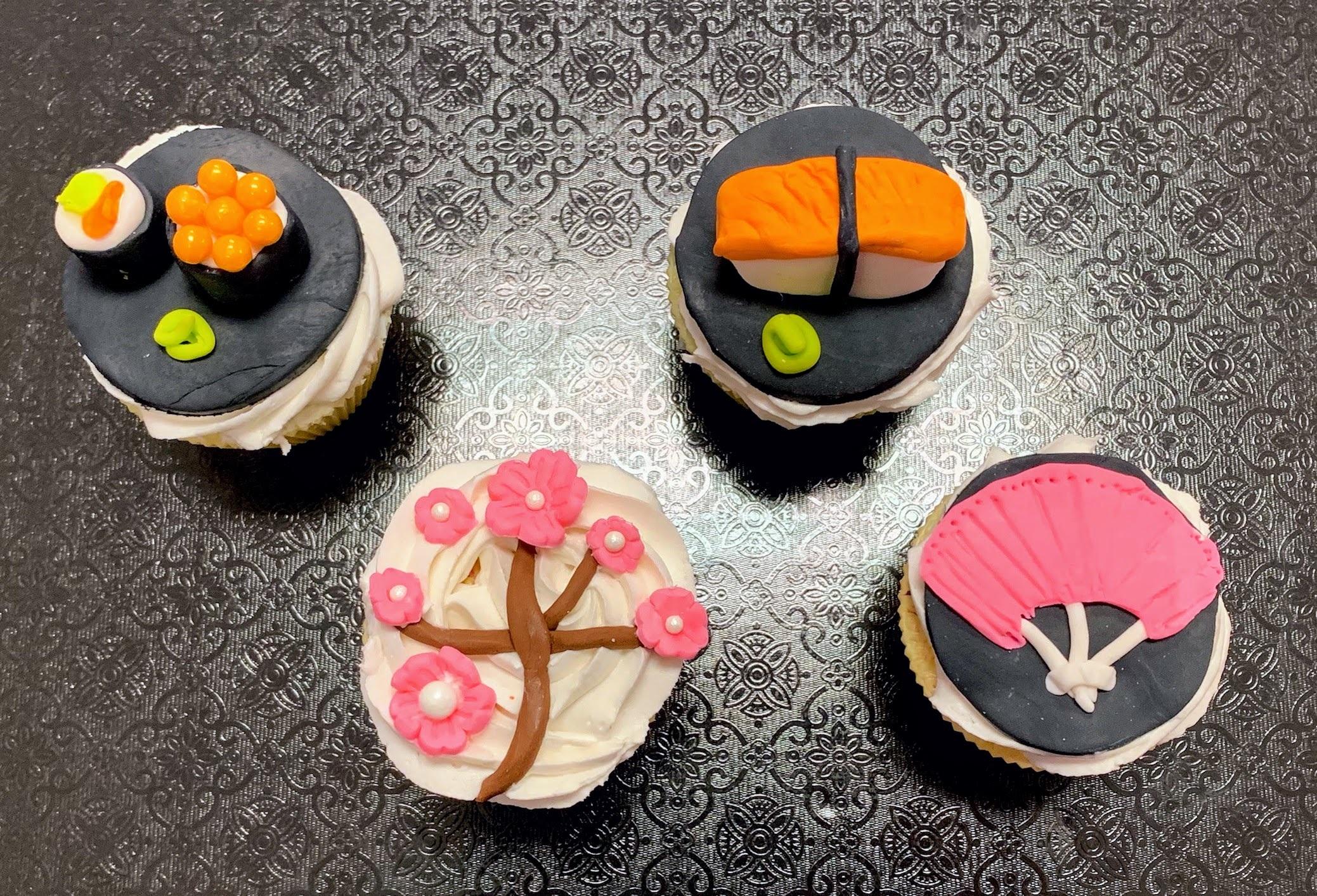 Kid's Camp: Sushi & Origami Cupcakes