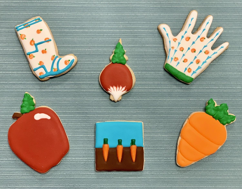 Kid's Camp: Gardening Cookies
