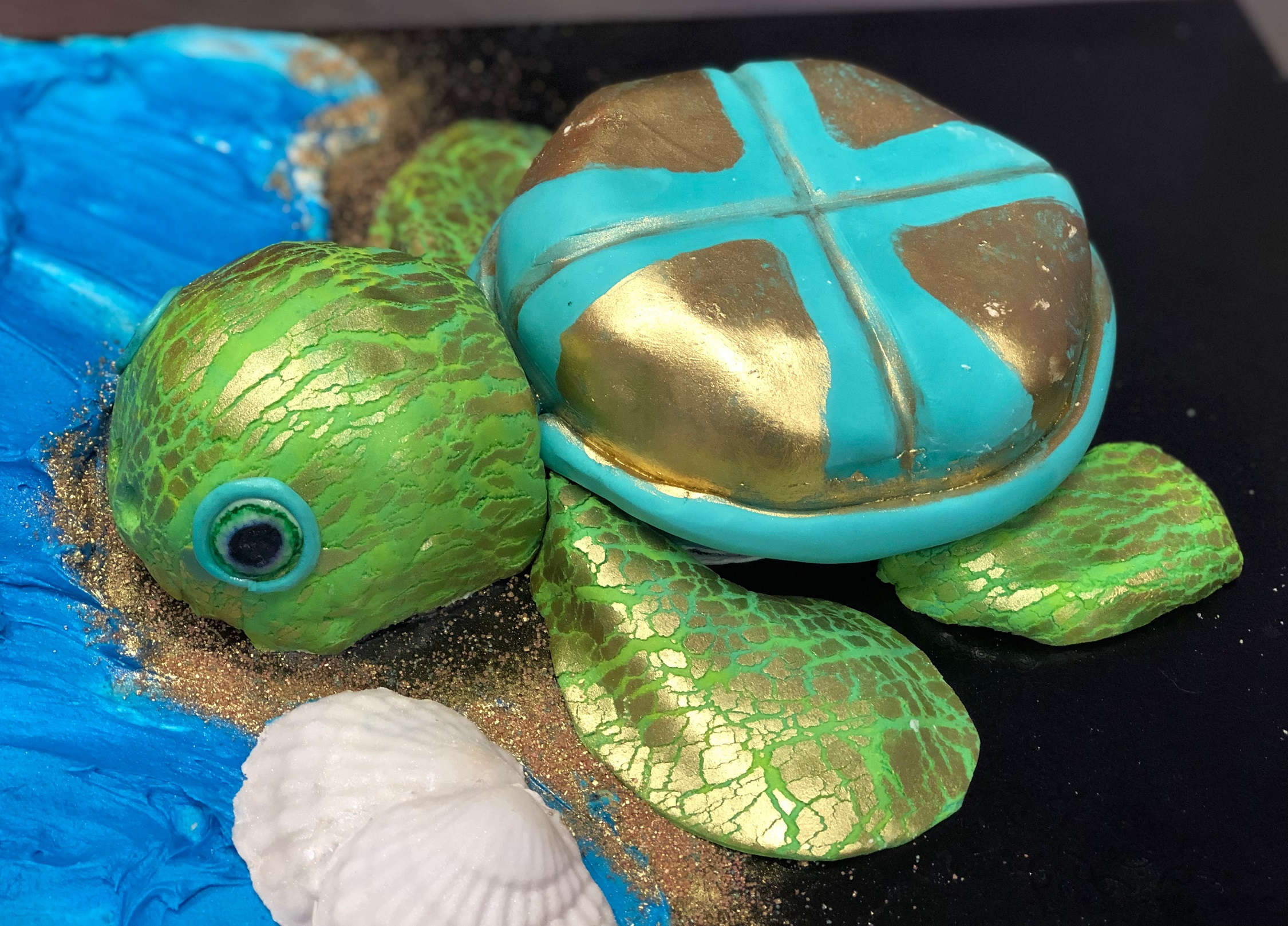 Wine Down Wednesday: Sea Turtle Cake