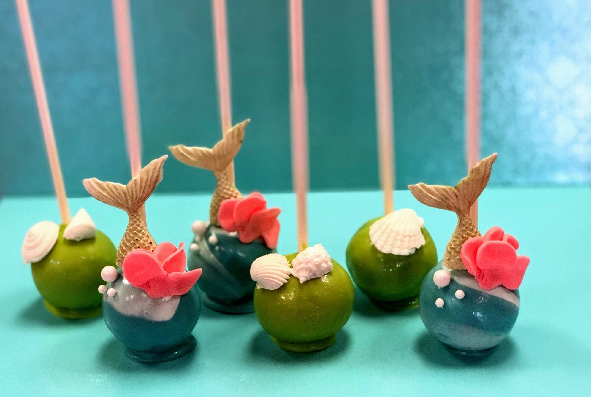 Wine Down Wednesday: Under the Sea Cake Pops