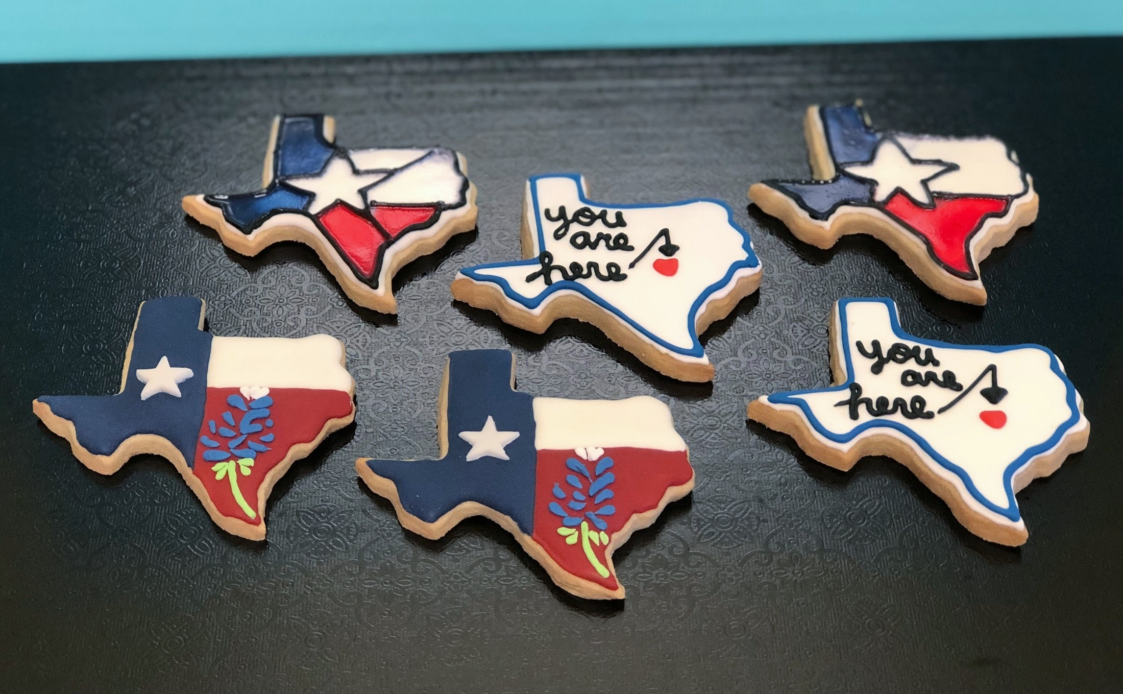 I Love Texas Cookies