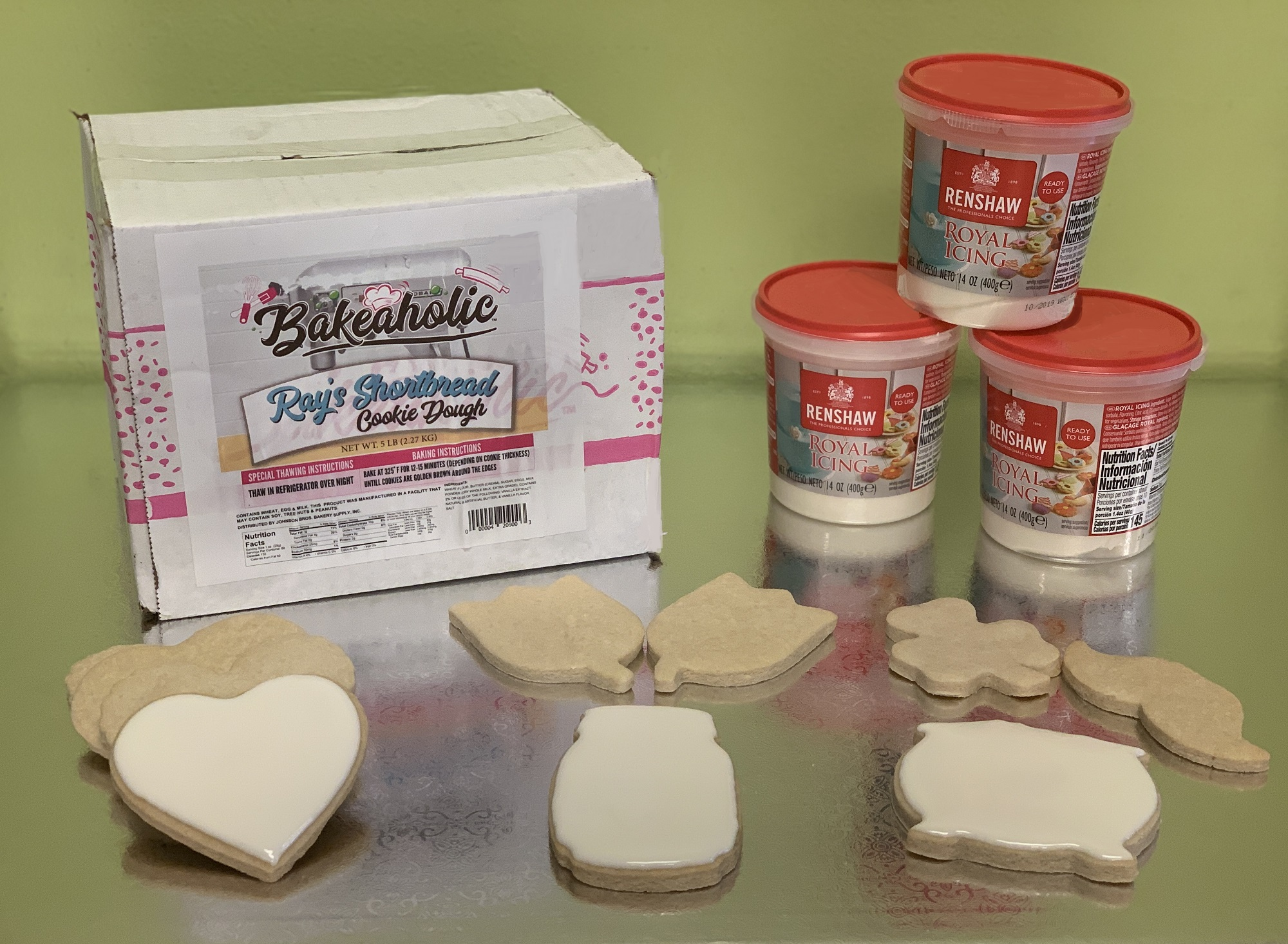 Sample Day: Shortbread Cookies and Renshaw Royal Icing