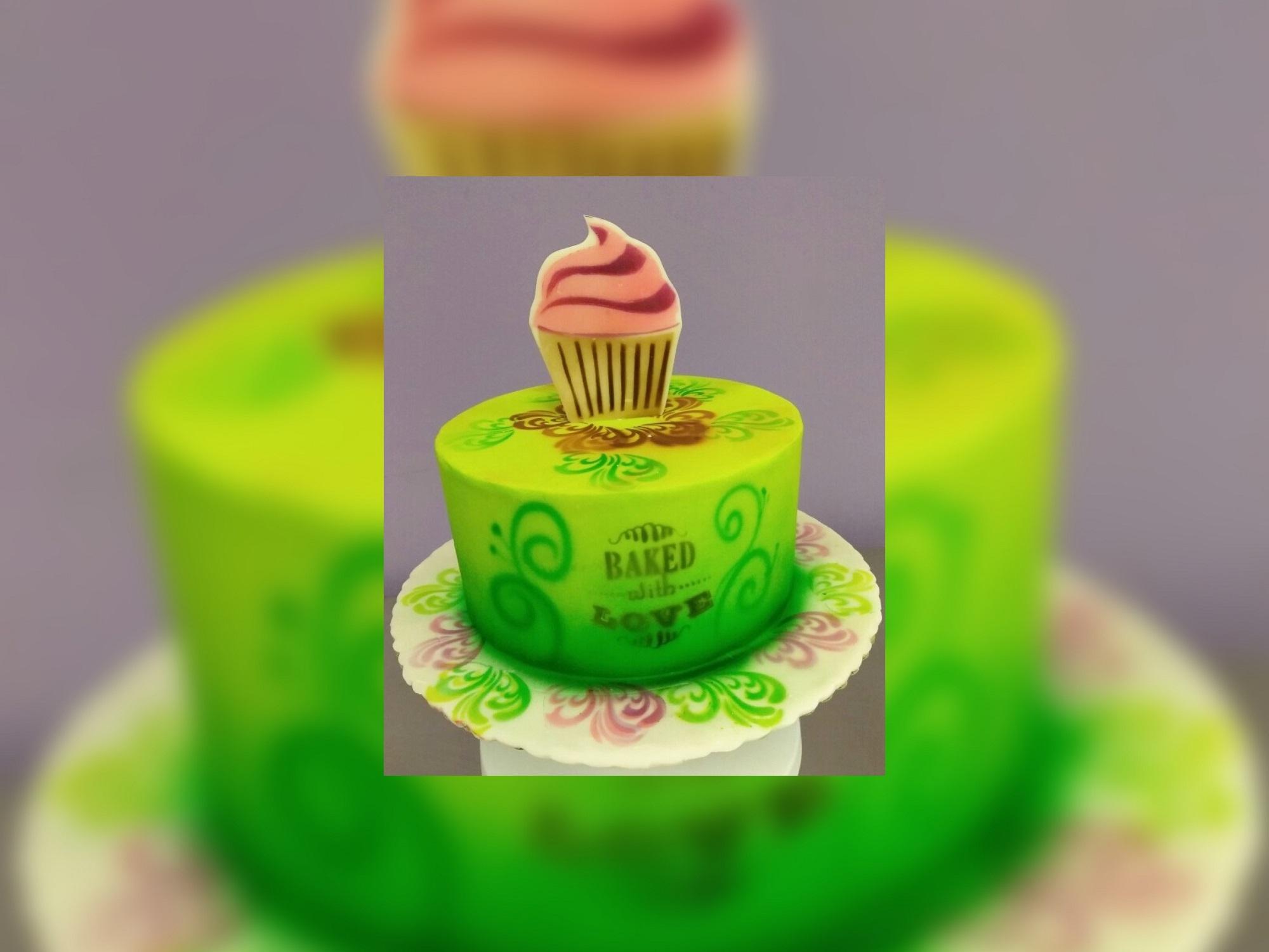Airbrush Basics Cake