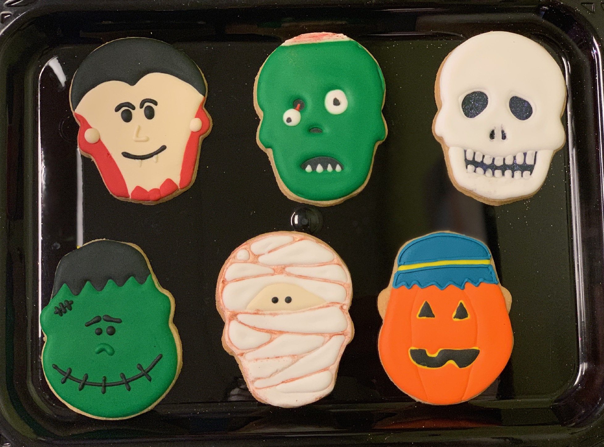 Kid's Camp: Faces of Halloween Cookies