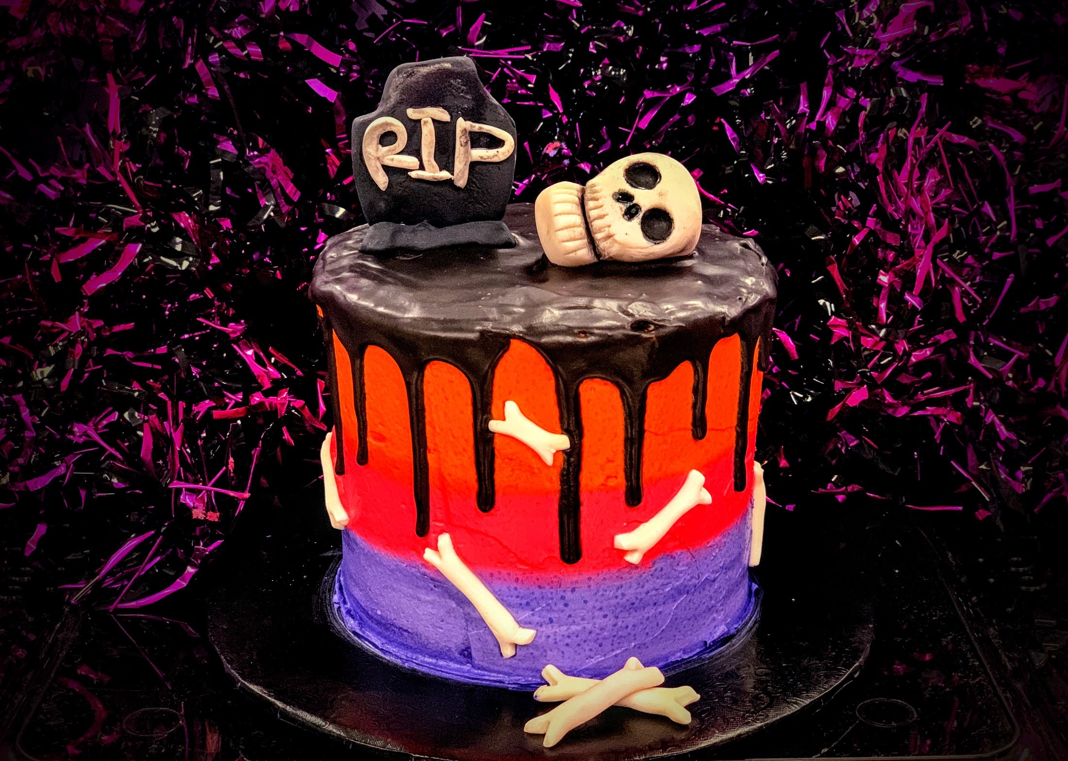 Kid's Camp: Halloween Cake