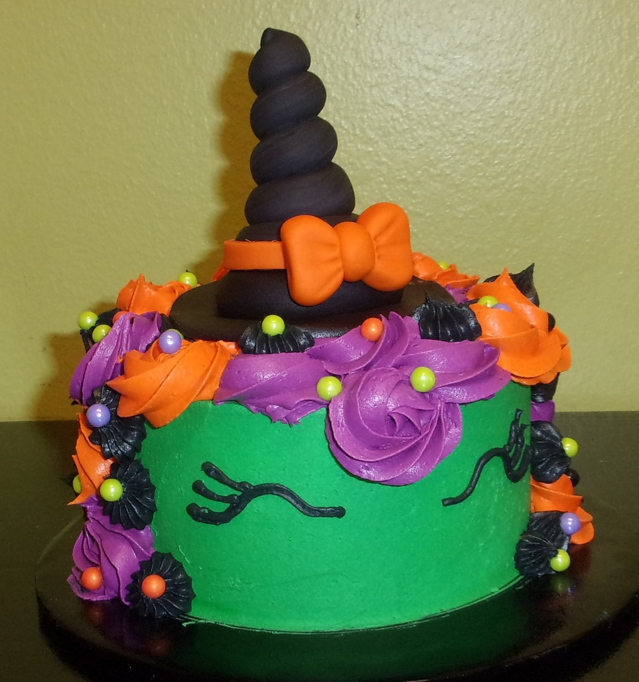 Family Day: Halloween Unicorn Cake