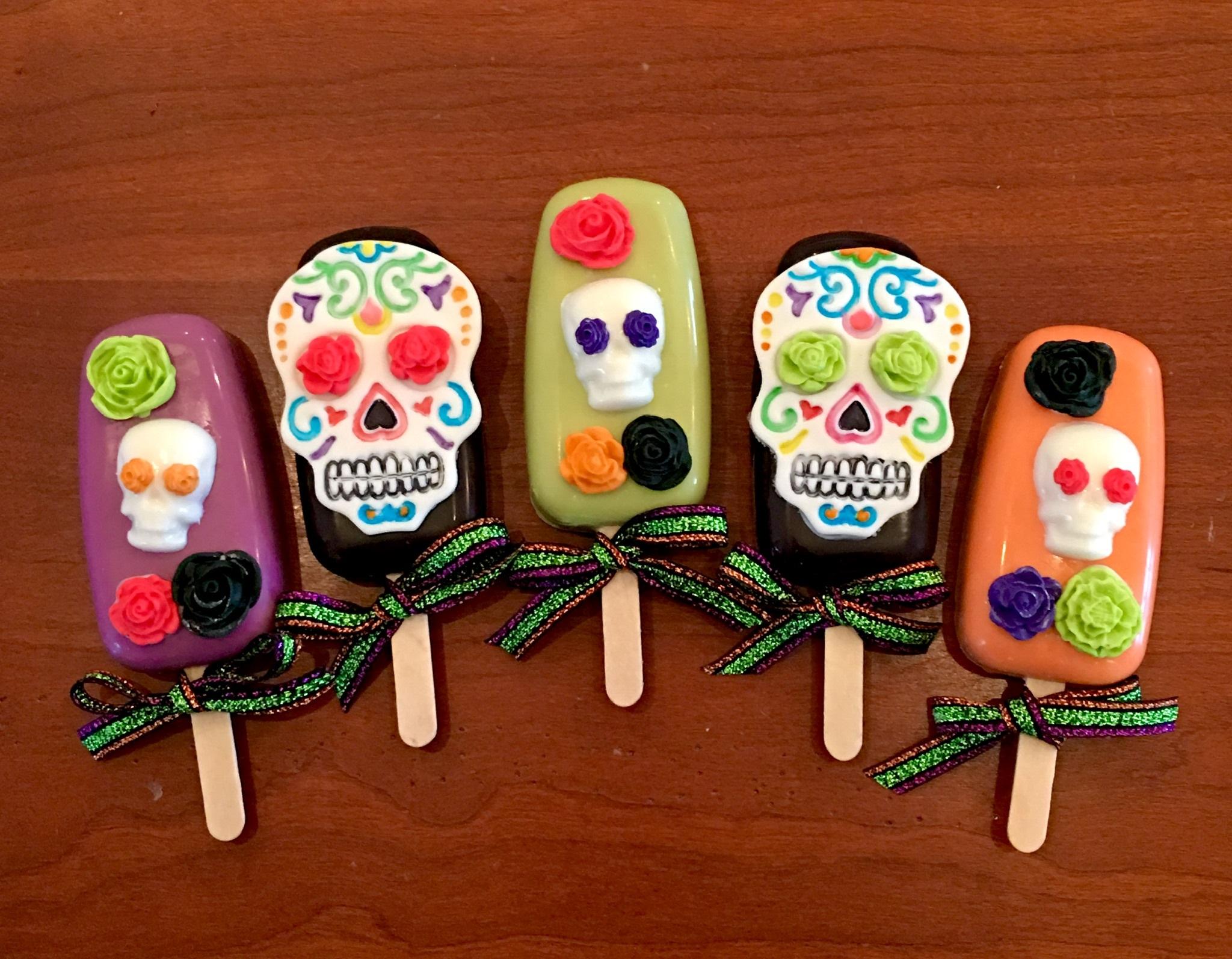 Cakesicles 101 – Dia de los Muertos Edition