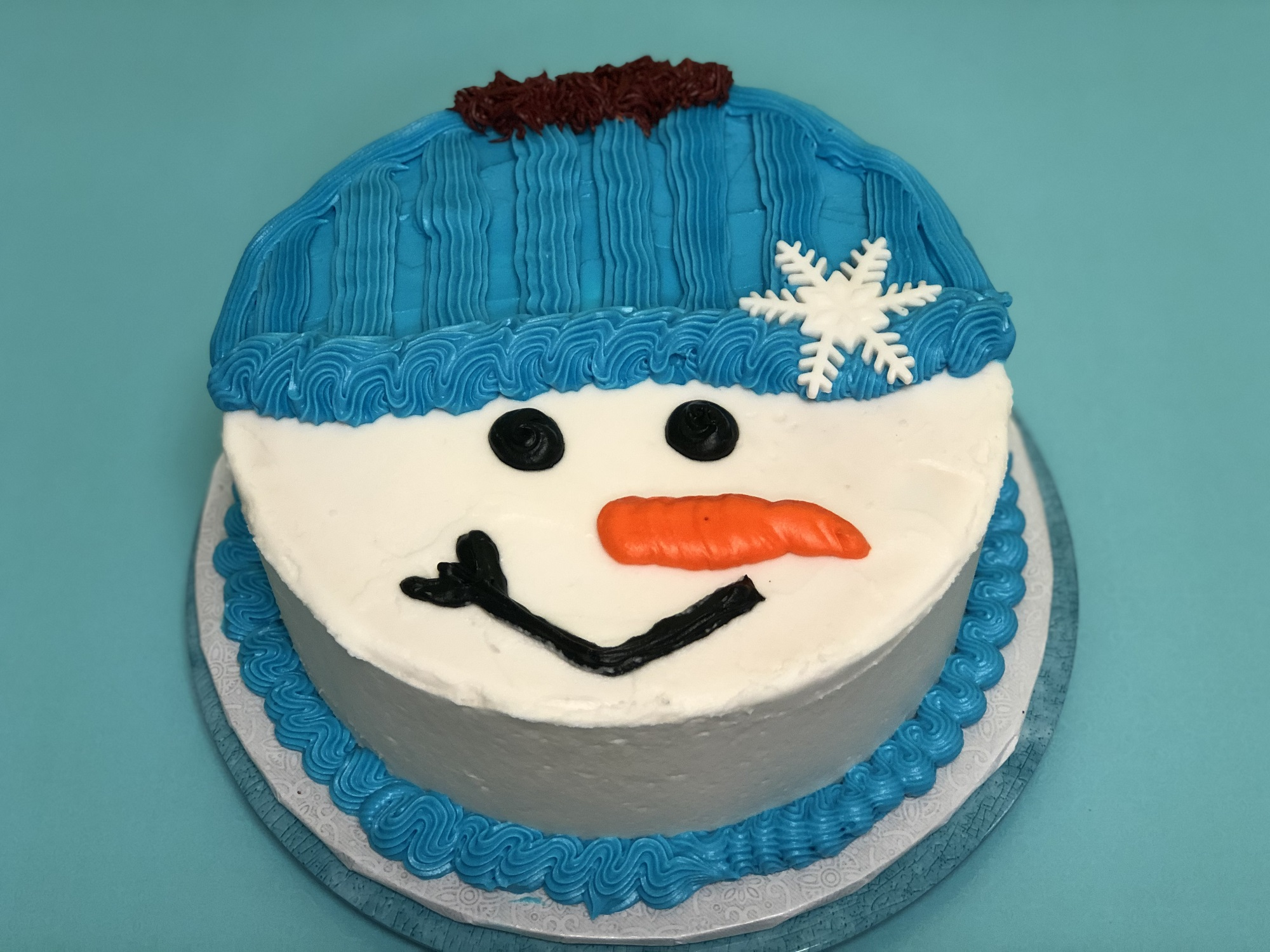 Kid's Camp: Snowman Cake