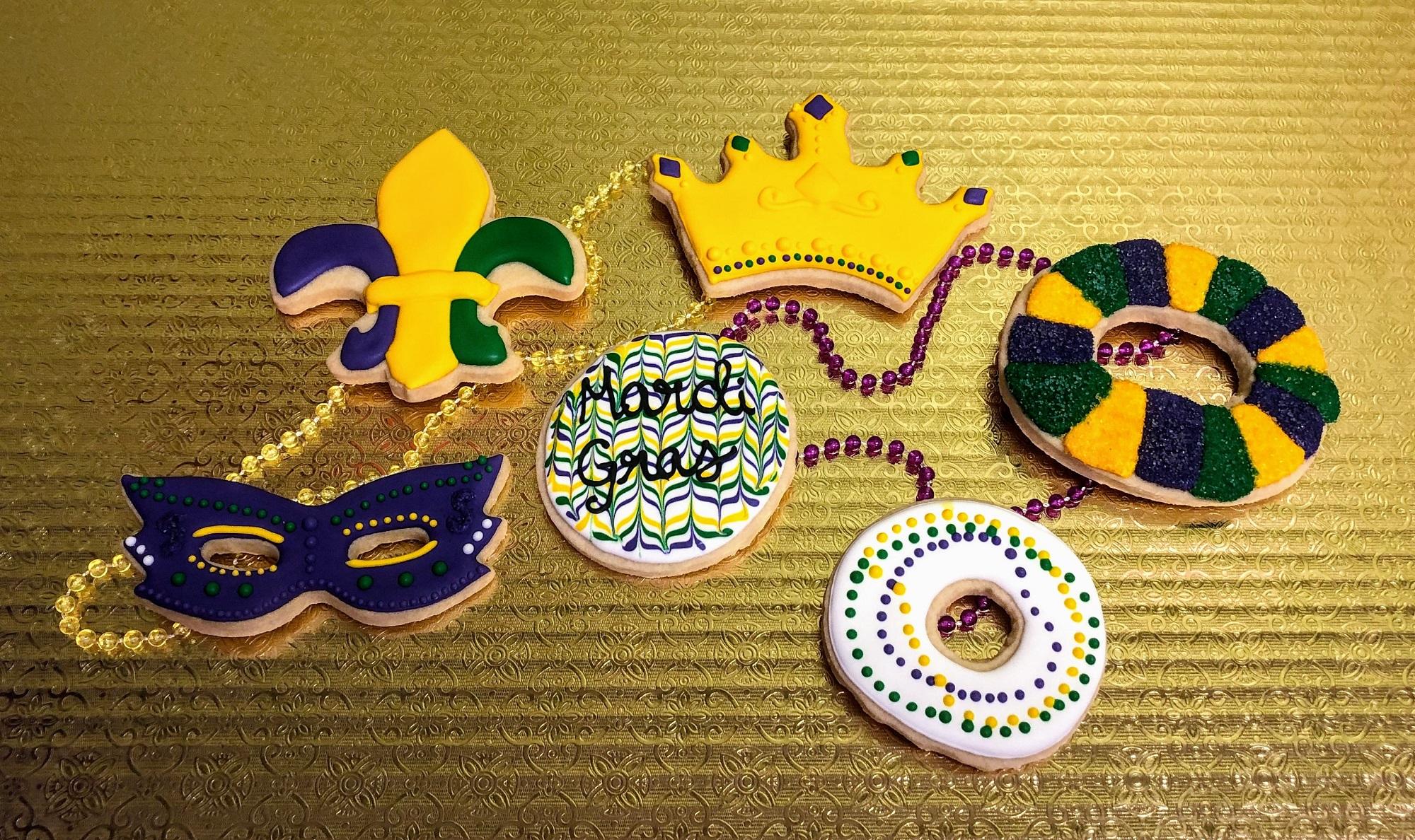 Family Day: Mardi Gras Cookies