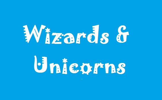 Wizards & Unicorns Cake