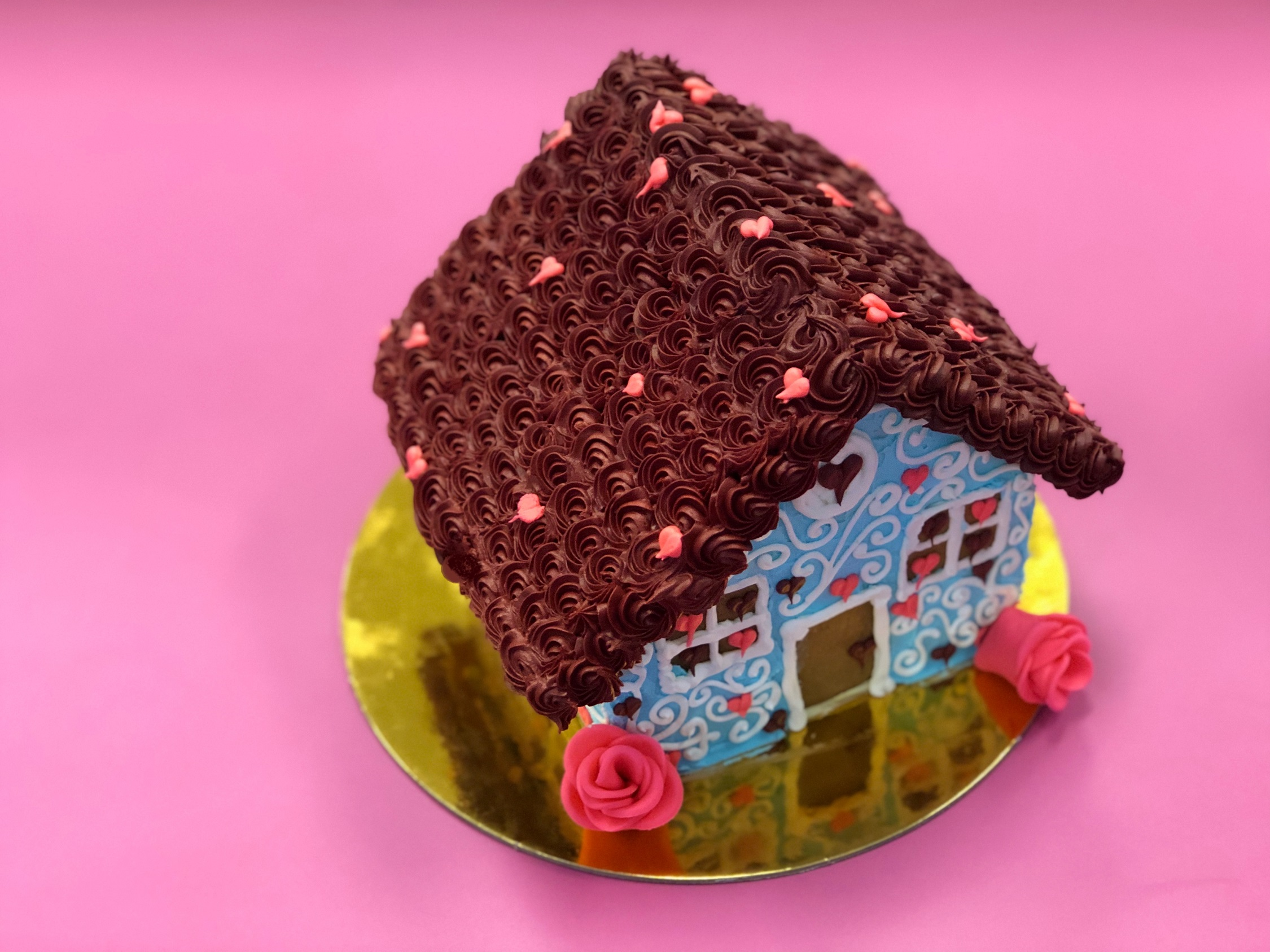 Family Day Twisted Gingerbread Houses