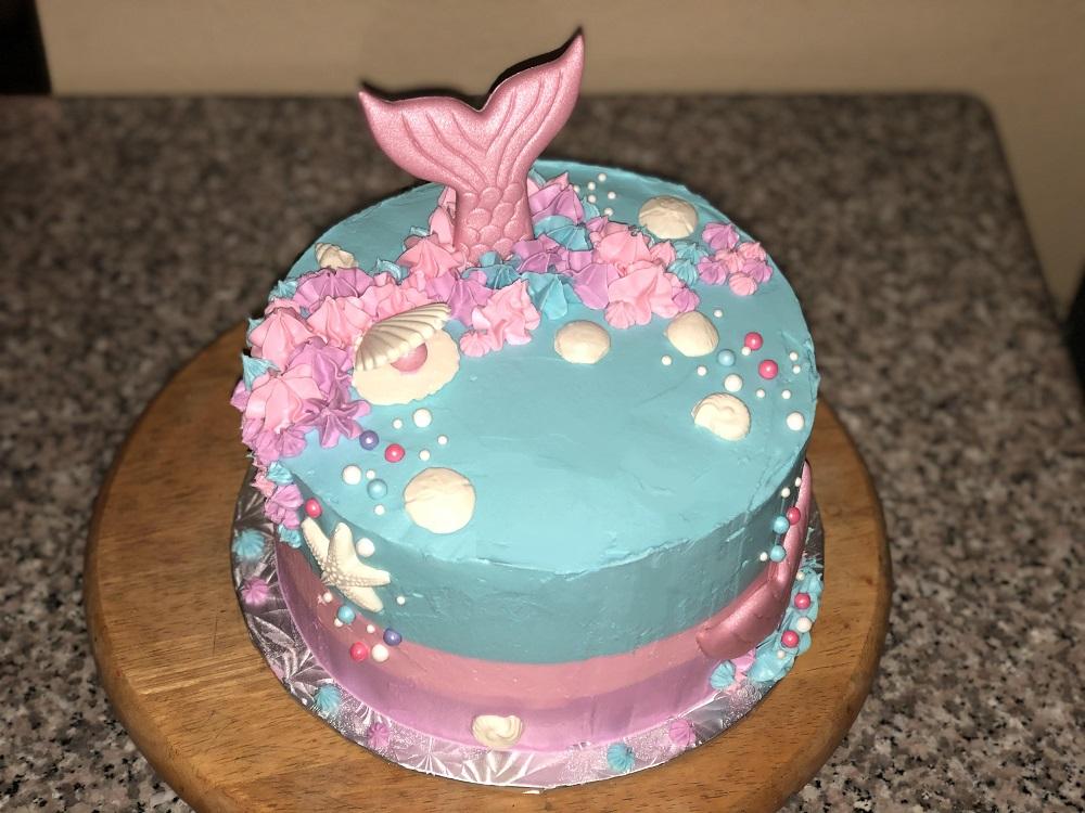 Family Day: Mermaid Cake