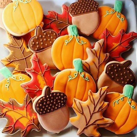 Pumpkins and Latte Cookies