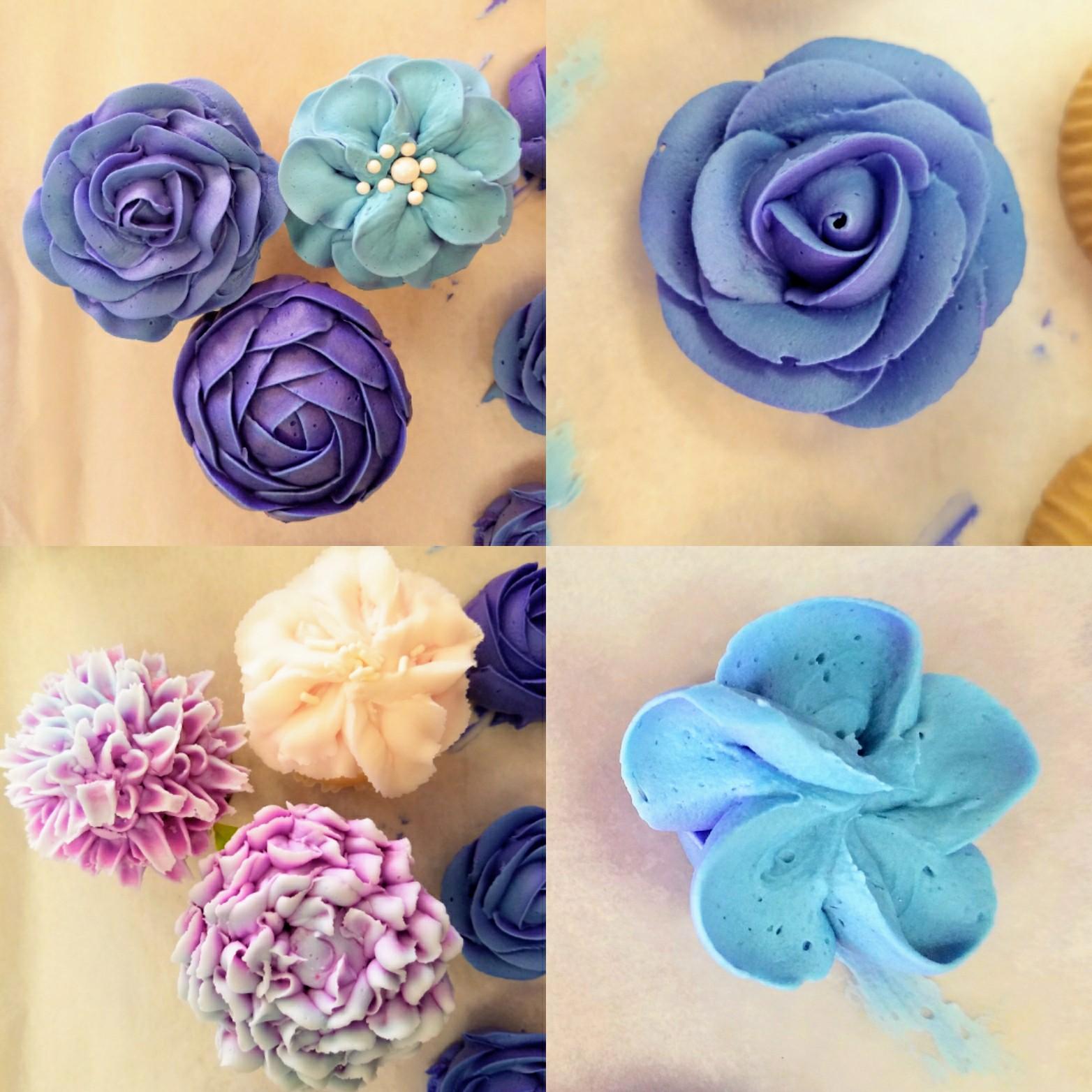 Buttercream Flowers Cupcake Class
